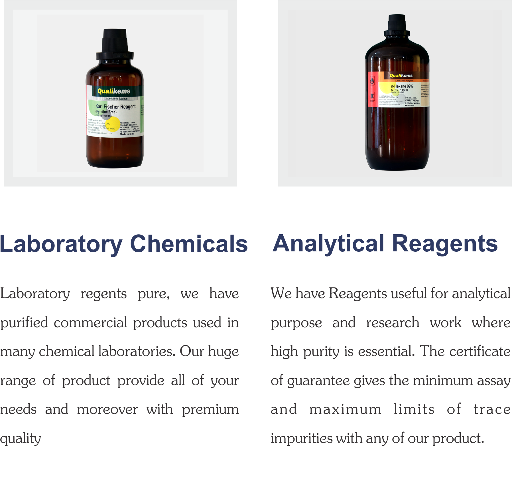 Mobile page – QUALIKEMS Fine Chem Pvt  Ltd